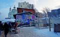 Зимние прогулки по Киеву: Андреевский спуск