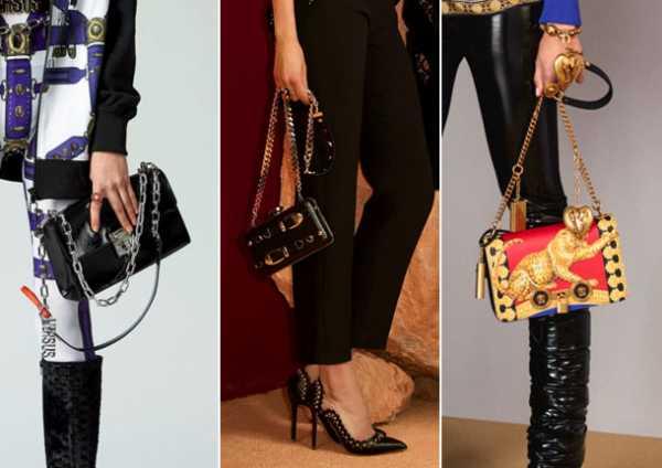 99cdff7c9c07 Versus, Elie Saab и Versace дополнили свои сумочки цепочками вместо ремней