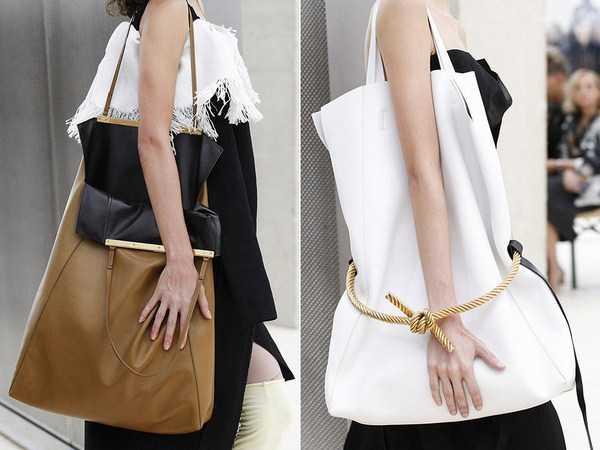 c5d053232dd6 Популярные в этом сезоне огромные сумки, которые отличаются простым и  практичным дизайном. В такую сумку поместится огромное количество вещей, ...