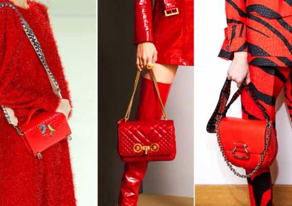 6831eb048840 Дерзкий сумочный тотал-рэд от Alena Akhmadullina, Versace и Roberto Cavalli