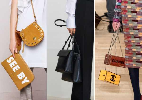 12b891fceb24 Стильные дабл-сумки от брендов See by Chloé, Jil Sander и Chanel